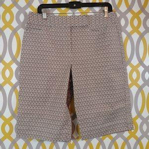 TALBOTS Bermuda Shorts Chino Size 10